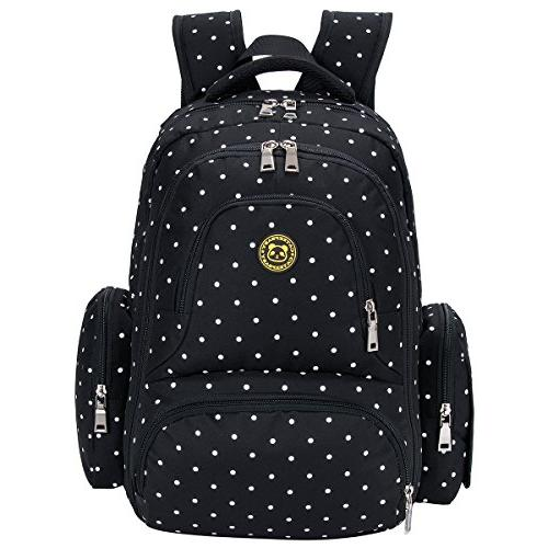 Cateep Waterproof Travel Diaper Backpack with Changing Pad a