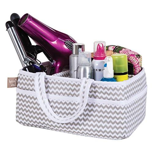 Trend Lab Dove Chevron Caddy