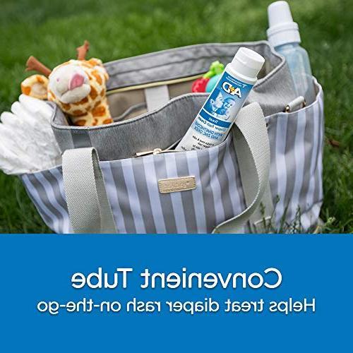 A+D Oxide Rash Cream, 1%, Care, 4 Ounce Tube