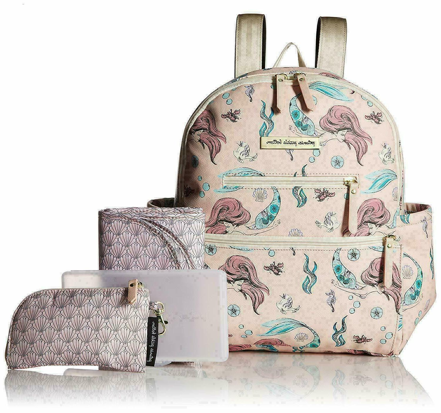 ace maternity backpack in the little mermaid