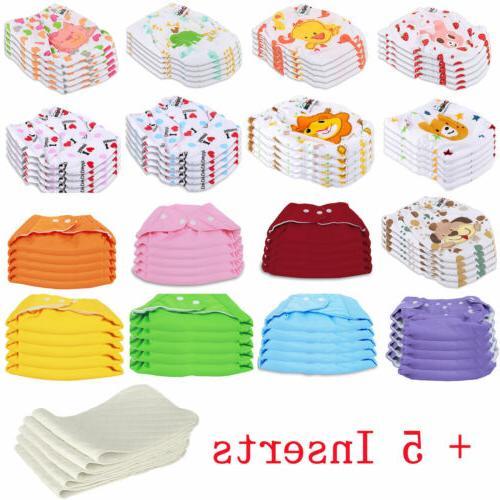 Adjustable Cloth Diaper 5