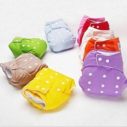 Adjustable Reusable Kids Boy Girls Cloth