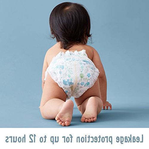 Amazon Brand Bear Diapers 160 Count, Print