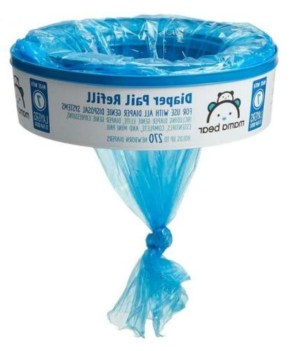 Amazon Brand Bear Diaper for Genie Pails, Count...