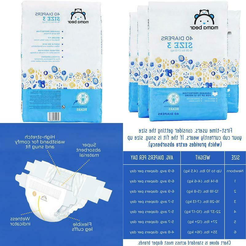 amazon brand diapers size 3 160 count