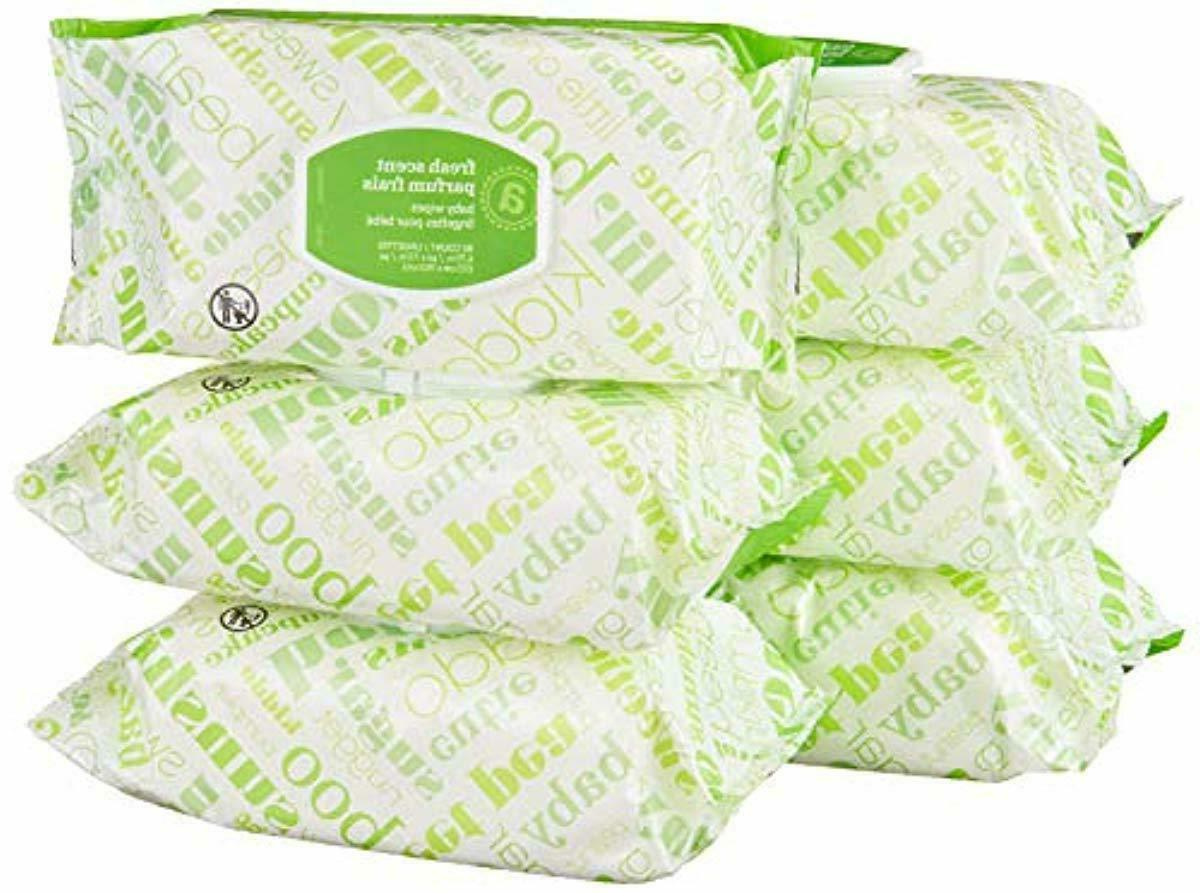 Elements Baby Wipes, Fresh Scent, Sensitive, Unscented, 480