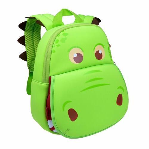 Animal Toddler Kids Backpack 3D Dinosaur Cartoon School Hiki