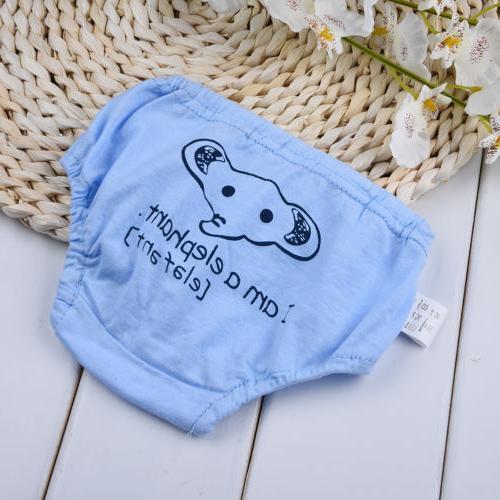 Animals Baby Potty Training Cloth Diaper Underwear