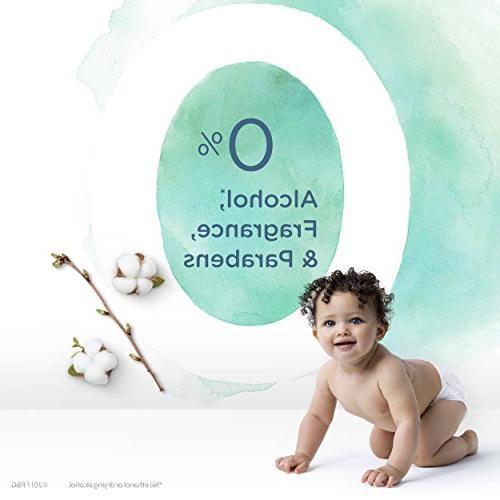 Pampers Aqua Pure Pop-Top Sensitive Water Baby Wipes Count