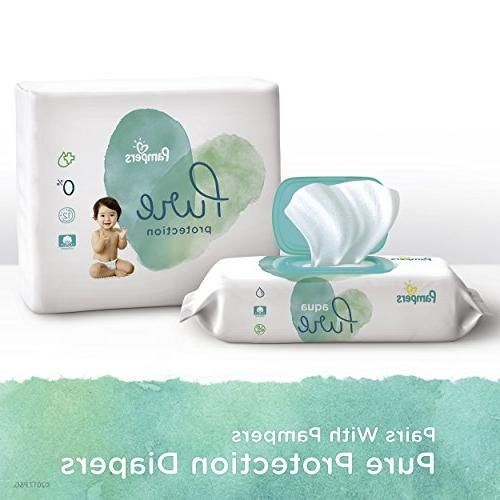 Pampers Pure Pop-Top Sensitive Water Wipes