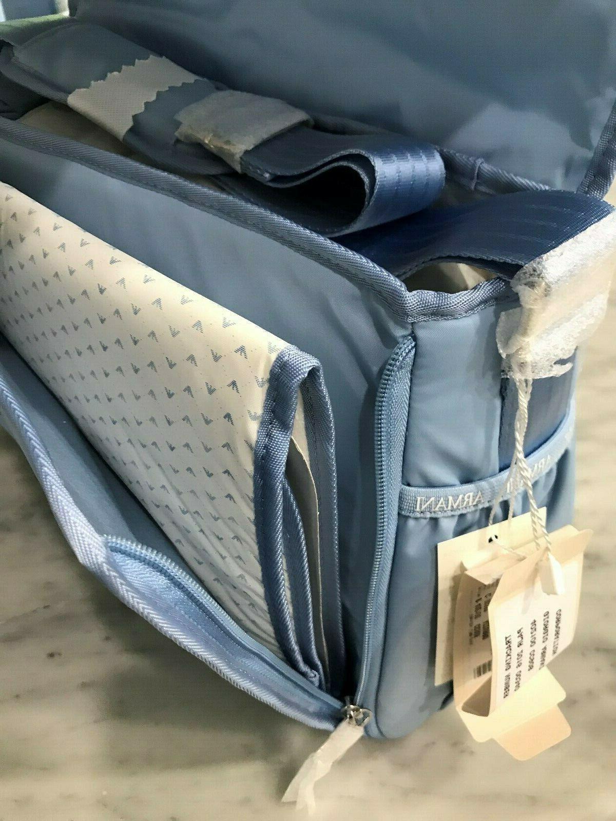 Armani Baby Large Baby Changing Messenger Bag $399