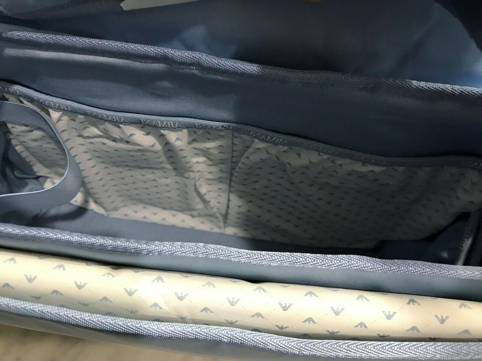 Armani Large Nylon Baby Changing Diaper Bag Messenger Bag $399