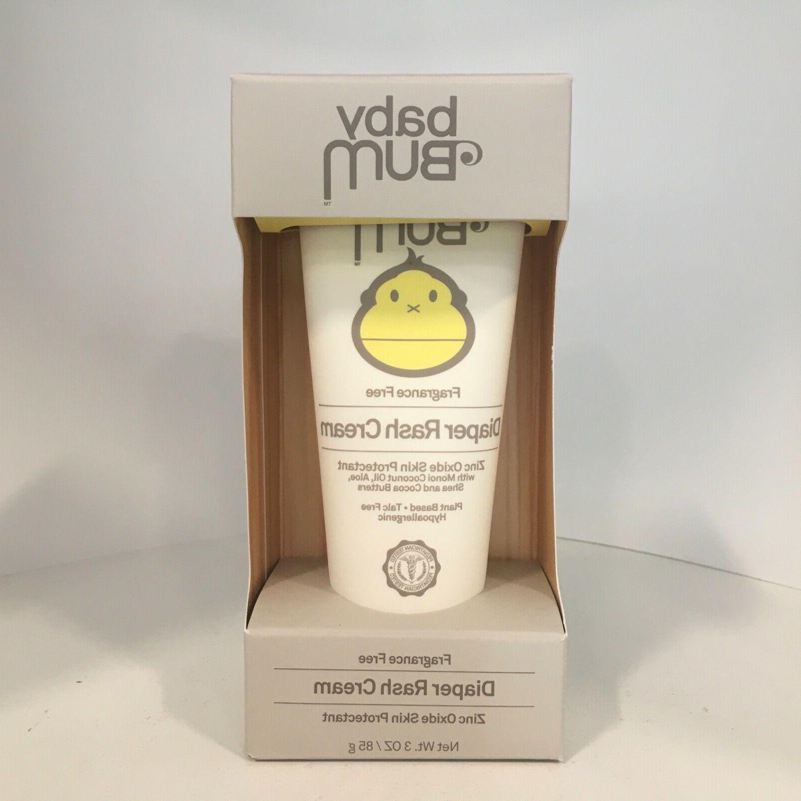 baby bum diaper rash cream fragrance free