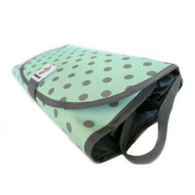 Baby Pad Waterproof Nappy Bag Foldable Toddler Diaper Mat Bag US