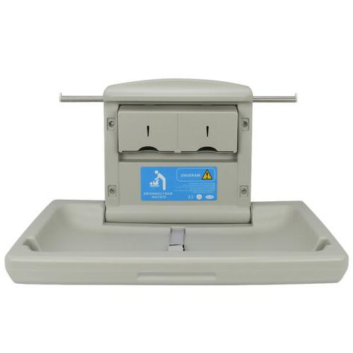 Baby Changing Station Wall Mounted Table Fold Down
