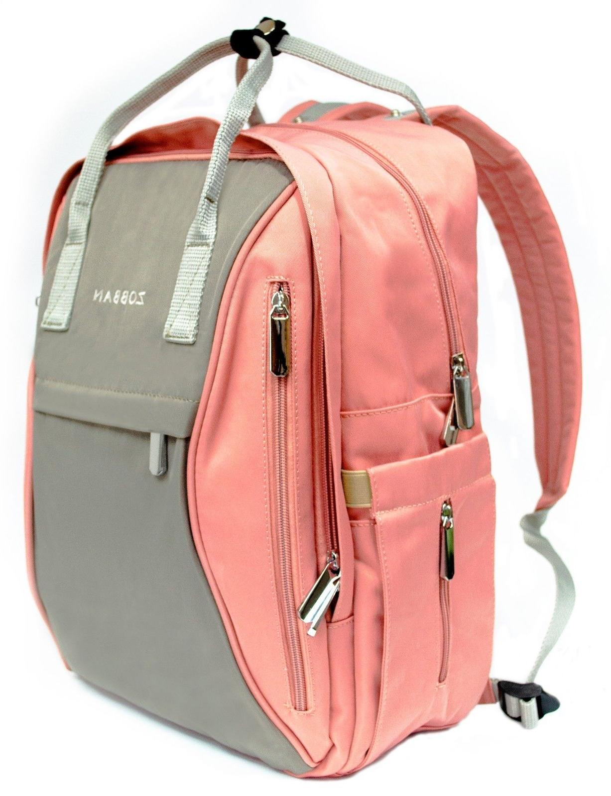 baby diaper backpack multifunction waterproof bag changing