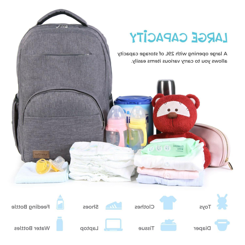 Lifewit Baby Diaper Mummy Bag Nursing