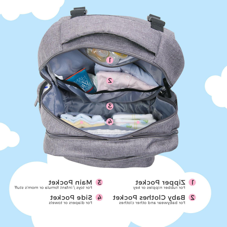 Lifewit Baby Backpack Mummy Bag Nursing Bag Large