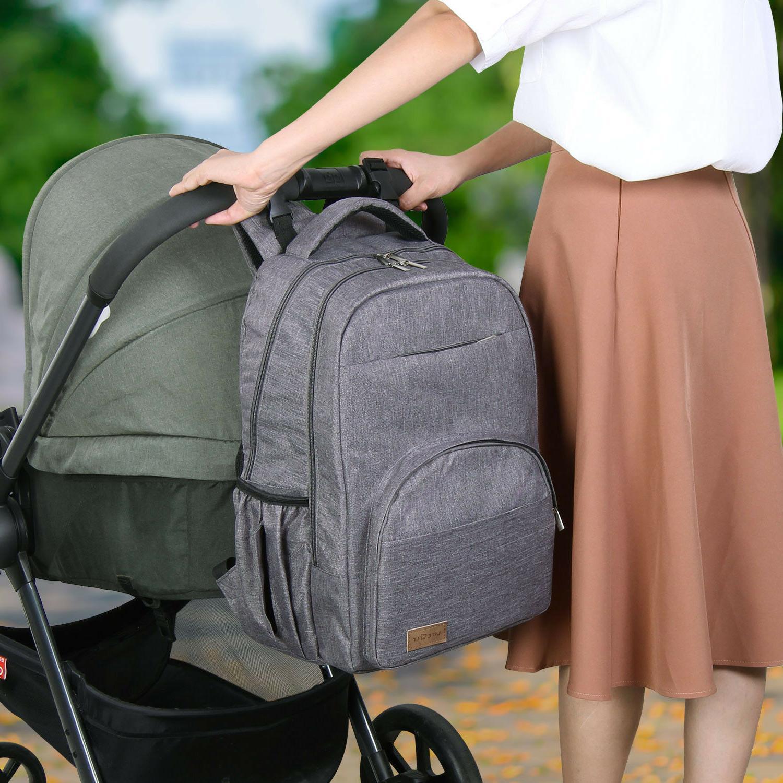 Lifewit Backpack Mummy Nappy Maternity Nursing Bag