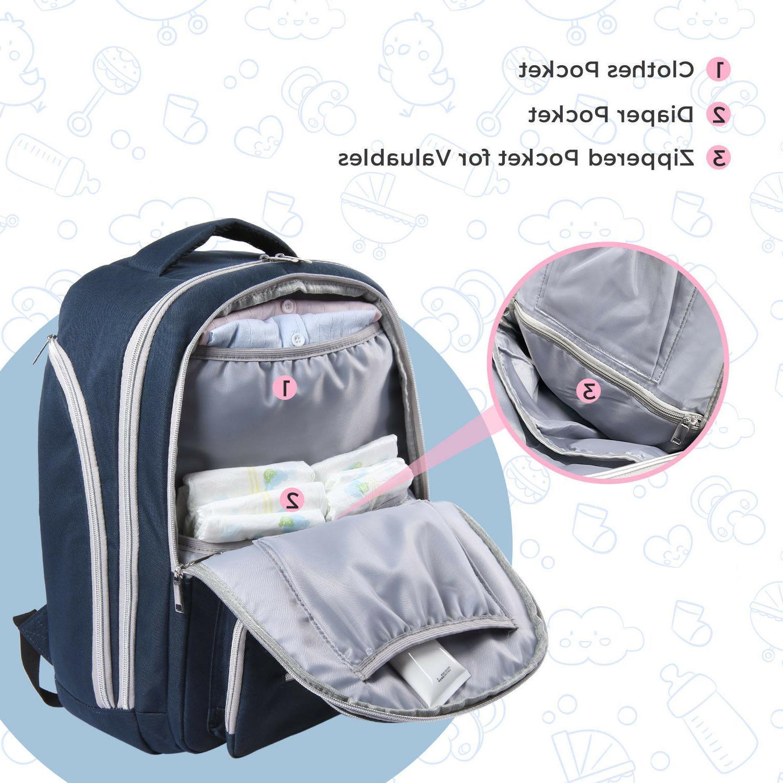 Lifewit Baby Backpack Mummy Travel Maternity Bag Organizer