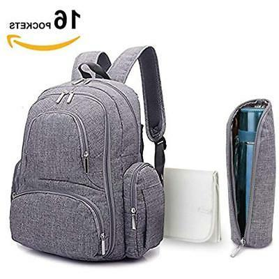 baby diaper backpack scratch proof bag