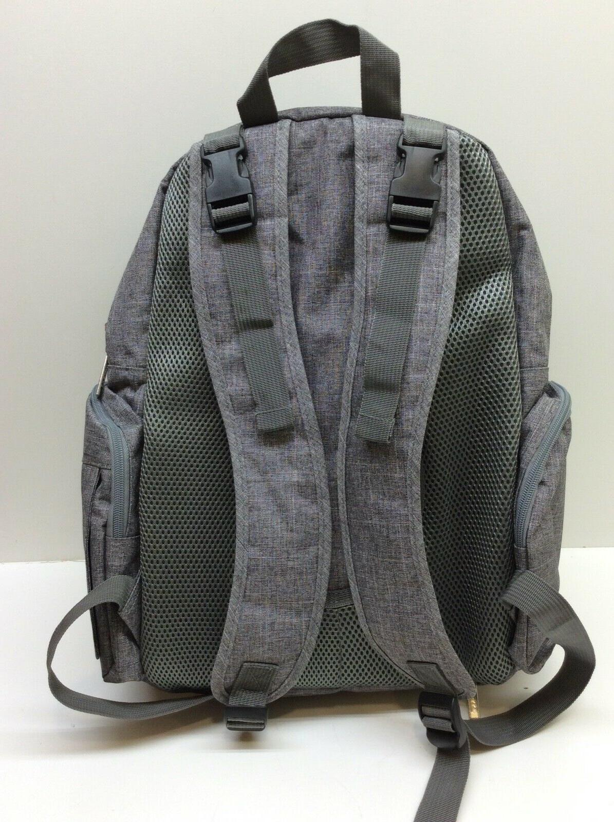 Lokass Backpack With Pockets Size Water-Resistant Ba