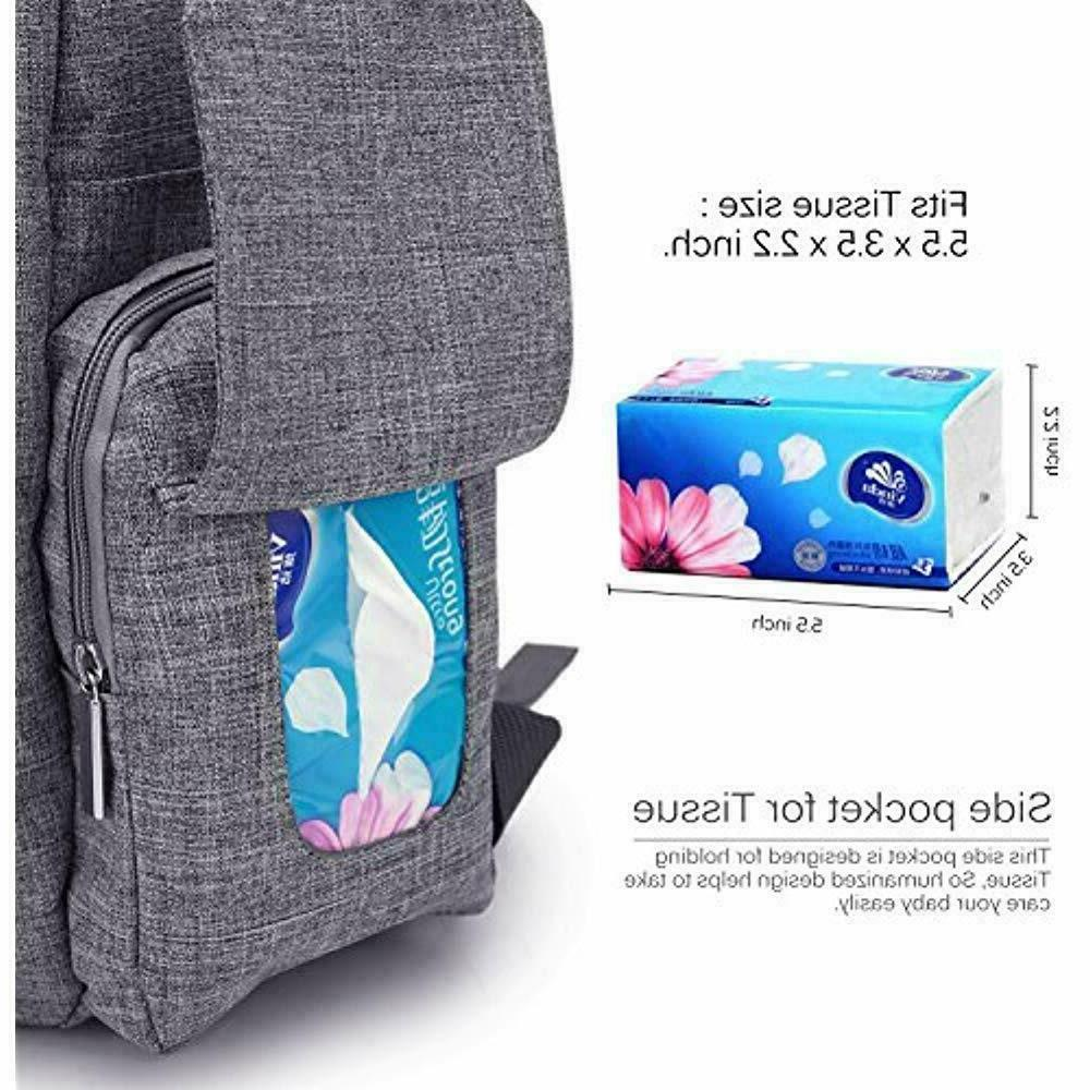 Lokass Baby Backpack With Insulated Pockets Size