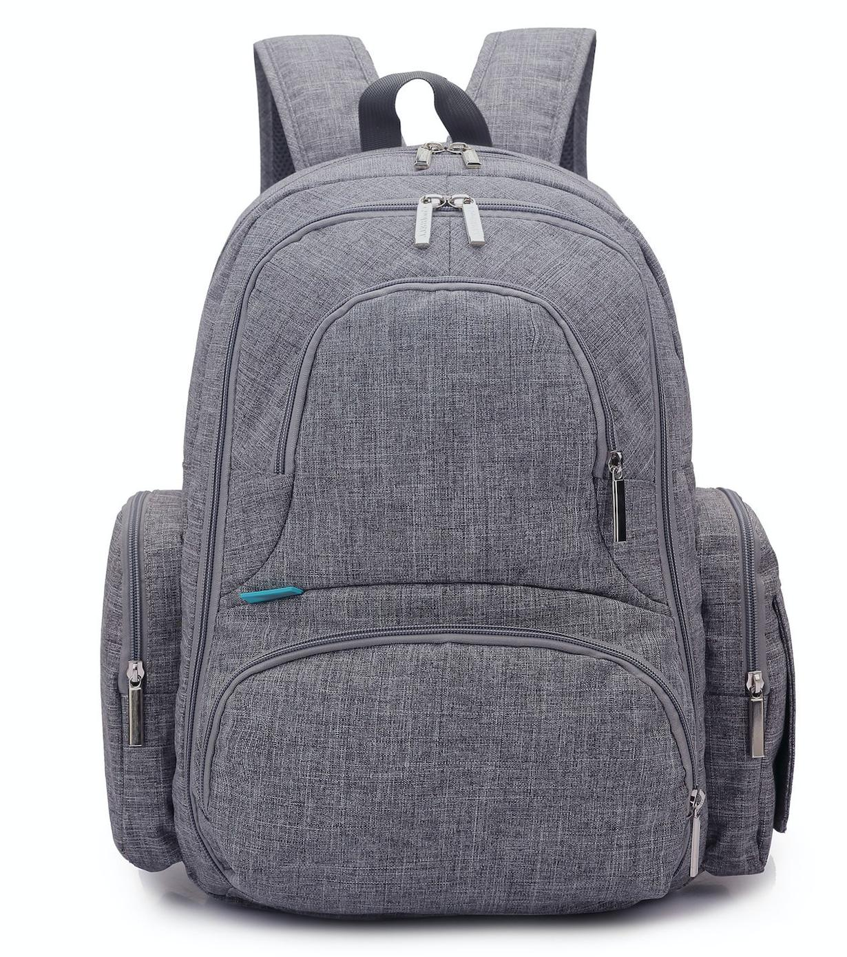baby diaper backpack with insulated pockets large