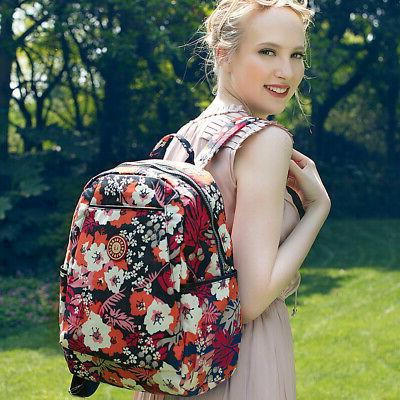Insular Baby Diaper Backpack Large Nappy Bag Nursing B4F5