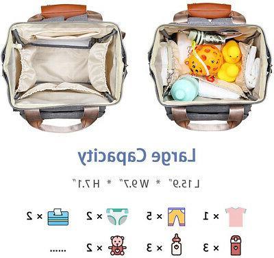 Baby Diaper Bag Waterproof, Large Pad