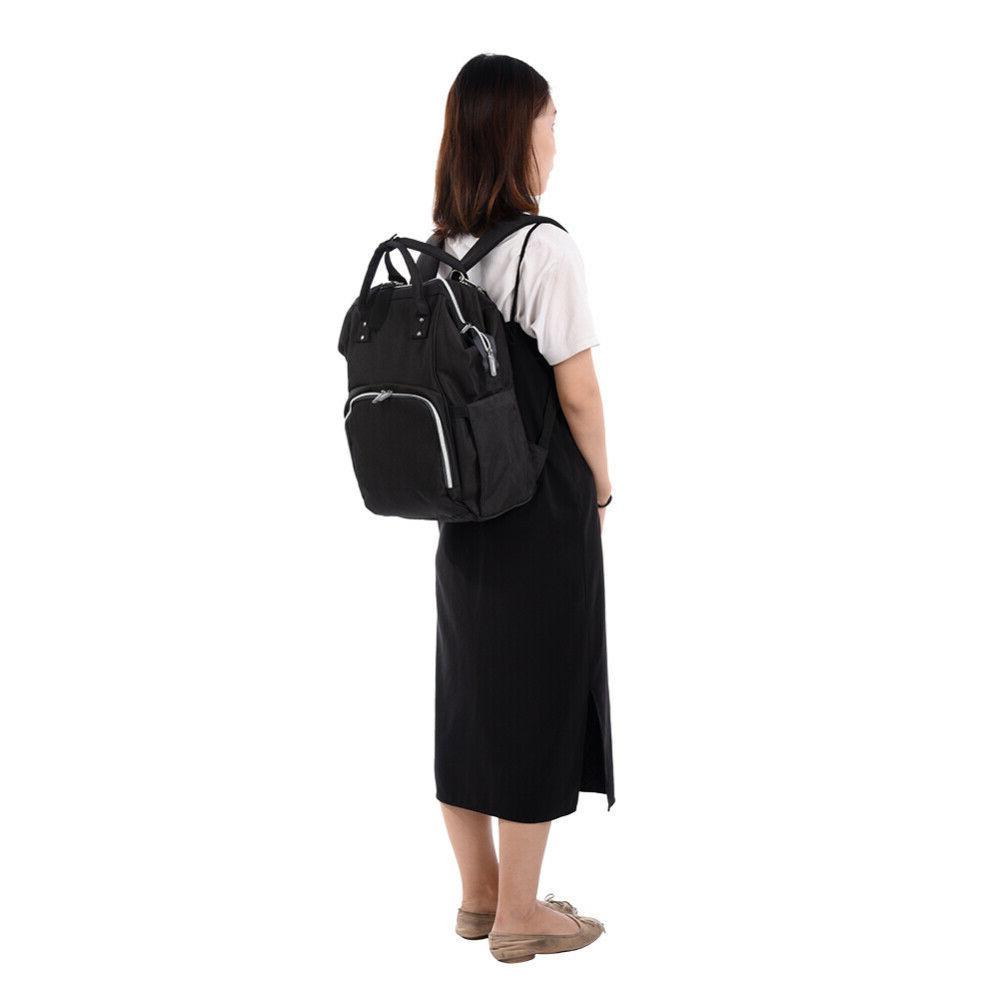 Baby Diaper Bag Large Capacity Nappy Mummy Maternity Travel Bag Charging