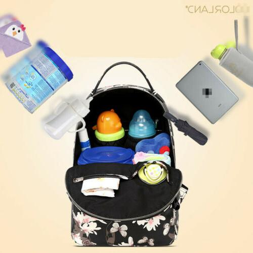 Baby Diaper Bag Backpack Mummy PU Large US