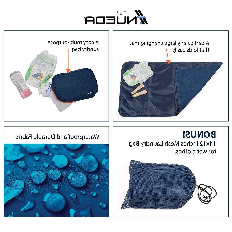 NUEDA Bag Travel Unisex Large Waterproof