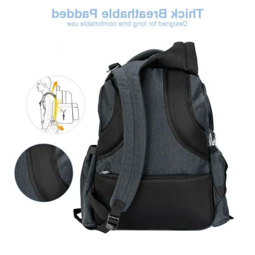 Baby Bag Backpack Mom Dad Nappy Waterproof Back Pack