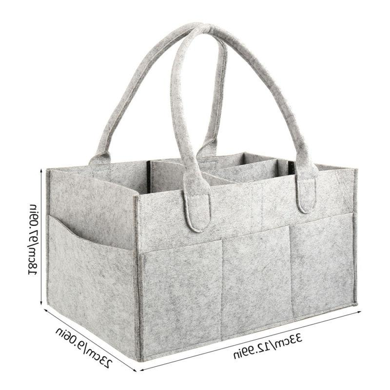 Baby Diaper - Storage Tote with Changing Mat