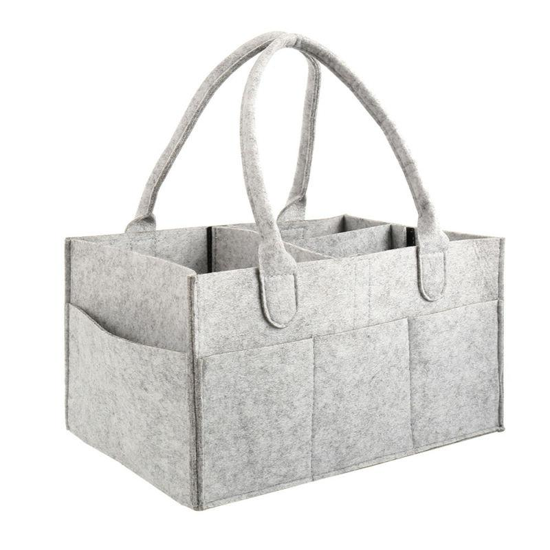 Baby Caddy Organizer - Nursery Tote with Changing