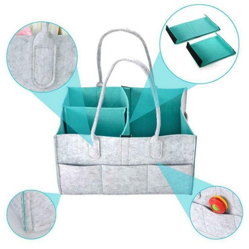 Baby Diaper Caddy | Registry for Shower | Tote Bag New