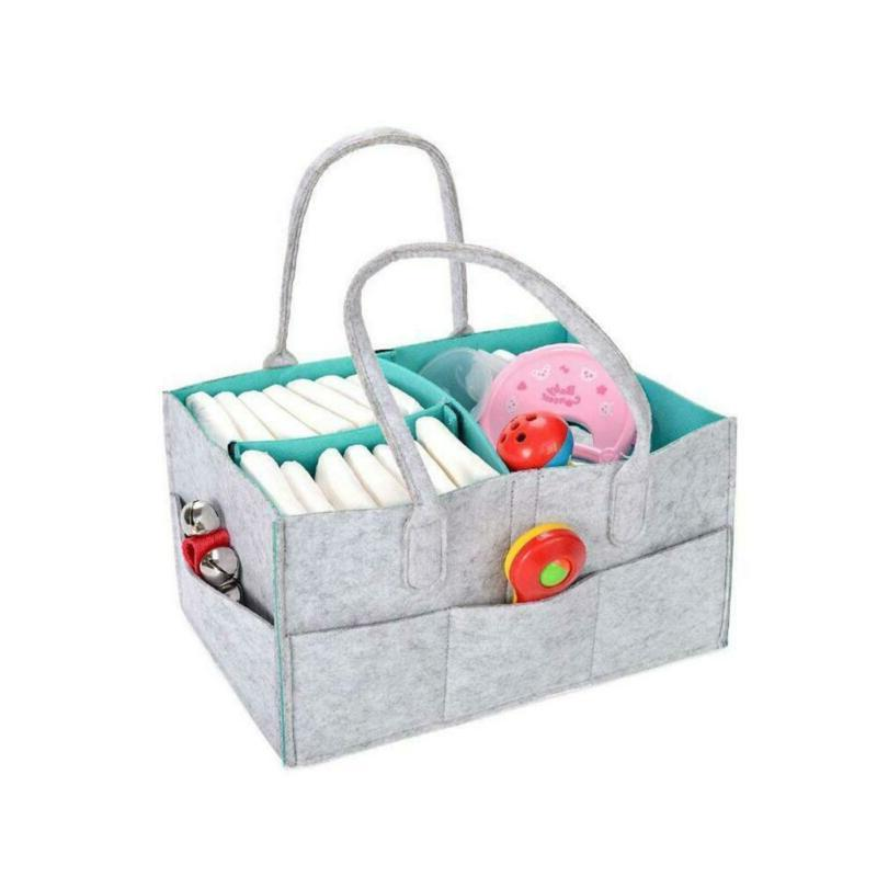Baby Diaper Caddy Organizer | for Shower | Tote Bag New