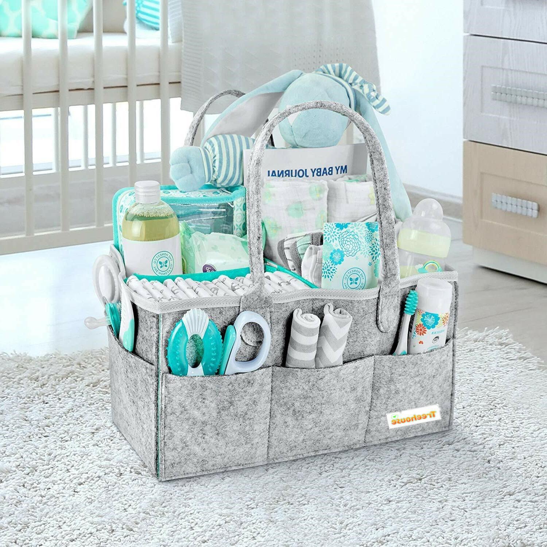 Baby Diaper Caddy | Registry Shower Diaper Bag