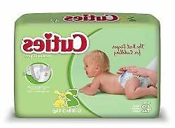 Baby Diaper Cuties Tab Closure Size 2 Disposable Heavy Absor