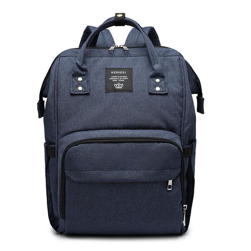 LEQUEEN Diaper Bag Nappy Backpack