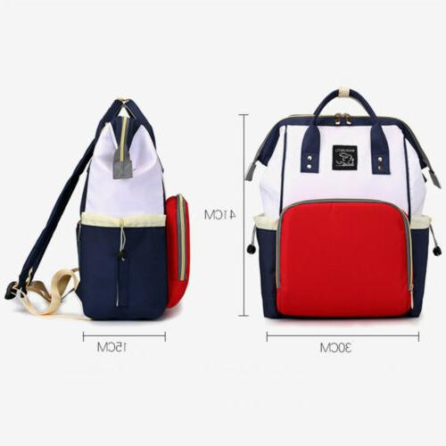 Large Mummy Changing Backpack Bag J1Y6B