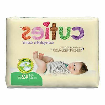 Cuties Baby Diaper, Size 2 Heavy Abs., CR2001 - Pack of 42