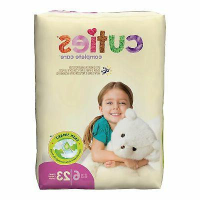 Cuties Baby Diaper Size 6 Over 35 lbs. CR6001 92 /Case