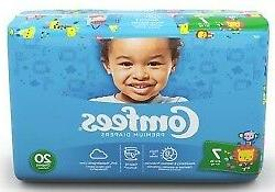 Comfees Baby Diaper Size 7, Over 41 lbs. CMF-7, 80 Ct