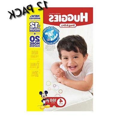 baby diaper snug and dry tabclosure size4
