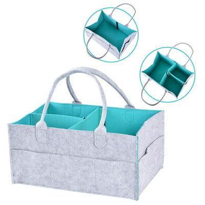 Baby Diaper Wipes Bag Caddy Nursery Infant Nappy Organizer