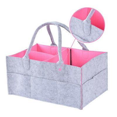 baby diaper wipes bag caddy nursery storage