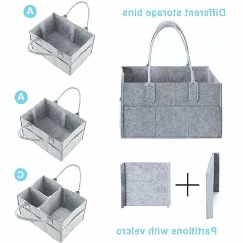Baby Nursery Bag Infant Bin Storage Organizer US