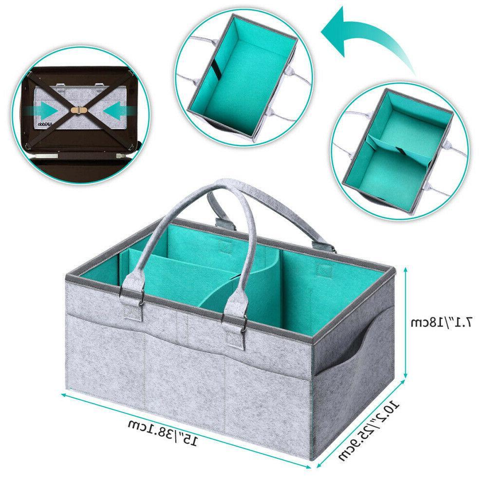Baby Wipes Nursery Nappy Bin Storage NEW